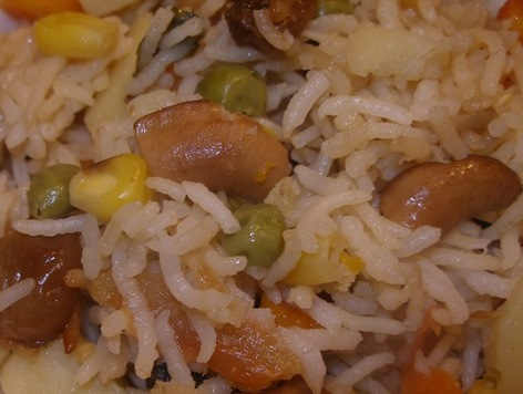 Navratan Pulao Recipe - Ingredients and Method of Preparation of Navaratan Pulav