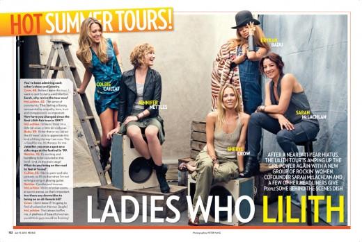 LilithFair.com/People Magazine