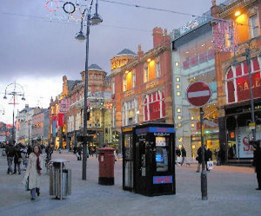 Leeds City Centre, West Yorkshire
