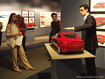 Alfa Romeo project, IAAD Turin Italy