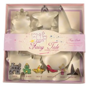 Fox Run Fairy Tale Cookie Cutter Set
