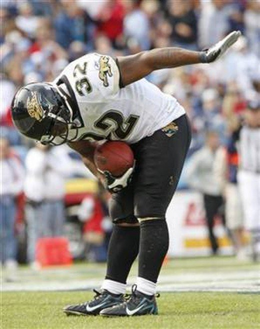 Maurice Christopher Jones-Drew[1]  (born March 23, 1985 in Oakland, California) is a current American football running back for the Jacksonville Jaguars