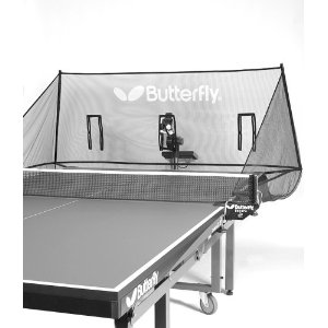 Nets to catch the table tennis balls