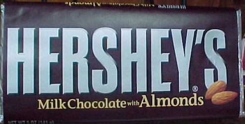 Hershey's Chocolate Bar with Almonds