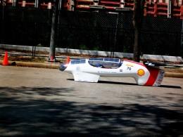 A prototype vehicle