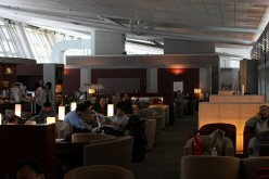 Relaxing at Seoul Airport Lounge before boarding. Photo by Erik Charlton (flickr)