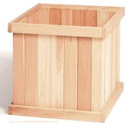 Tongue-n-Groove 22 Inch Cedar Box Planter