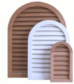 Arched Gable Vents