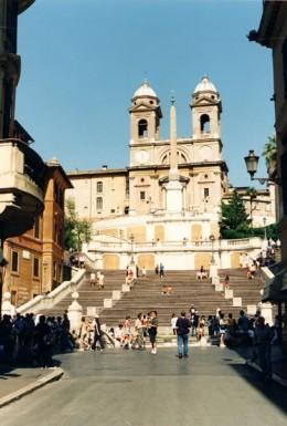 Piazza di Spagna, or Spanish Steps