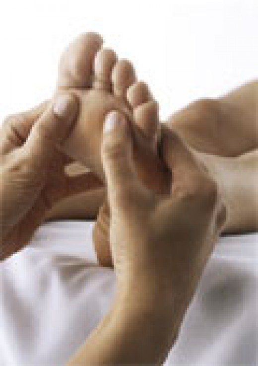 Everyone should get a foot massage.