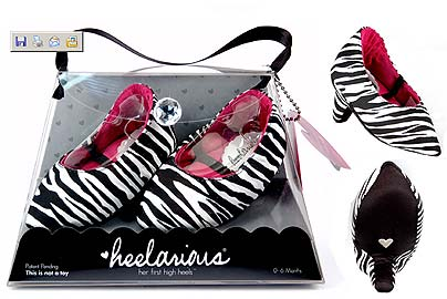 High Heels for babies? Heelarious for toddlers Photo:from Heelarious