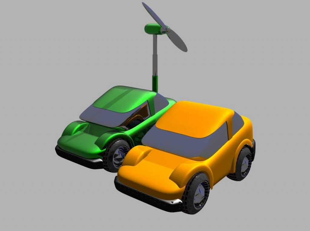 Electric Cars That Recharge Themselves