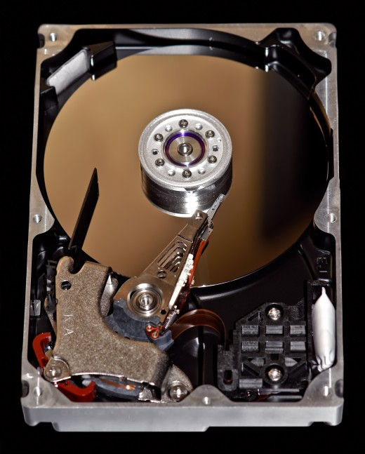 You can purchase a new hard drive for your laptop for a really good price and install it yourself