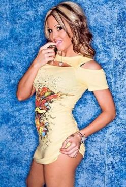 Female Wrestling - TNA Knockout Velvet Sky