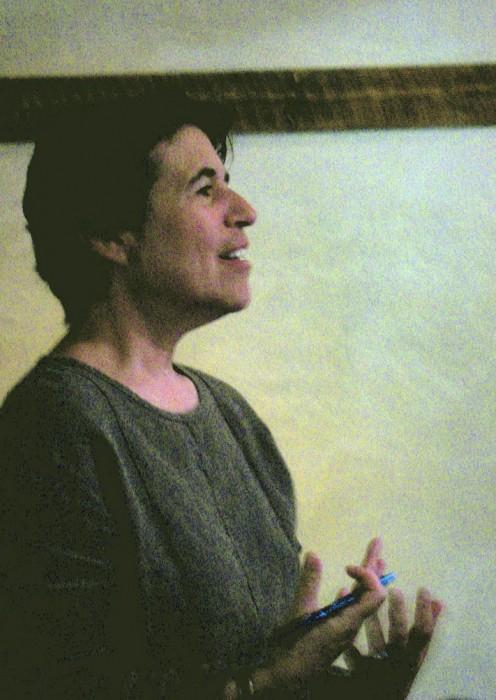 Natalie Goldberg at Upaya Zen Center 2008. Photo by Upaya, Copyright Creative Commons Attribution 2.0 Generic License.