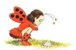 Mimi, the young heroine of Ladybug Girl discovers a day filled with adventure when she plays outdoors in her ladybug costume.