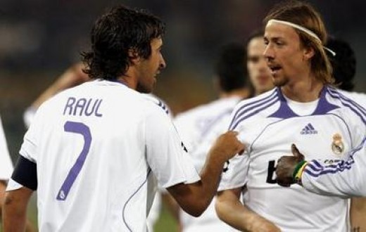 Raul and Guti:Madridistas