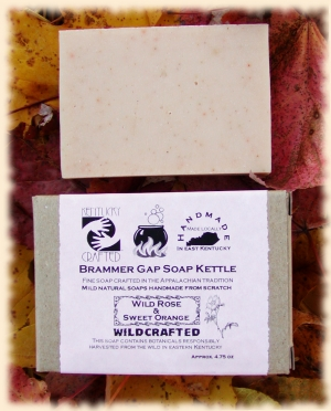 Jewelweed Soap, wildcrafted right here in Kentucky
