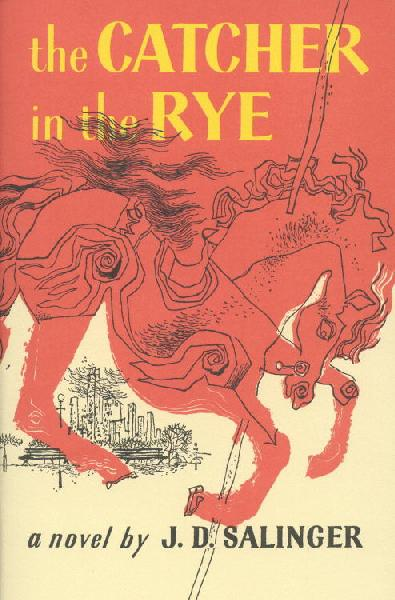 The Catcher in the Rye, the book cover