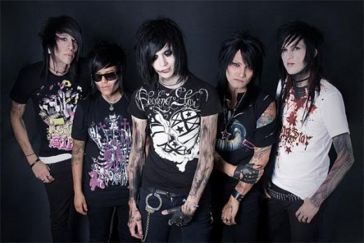 "The ""older"" Black veil brides."