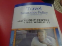 Travel Insurance policy. Photo by roland (flickr)