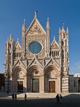 The Siena cathedral, where Tiberio Rivolti eventually obtains an additional trombone post, while continuing duties with the Palace wind band.