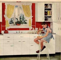 Fifties Retro Kitchens: Why I Love My Formica Dining Table