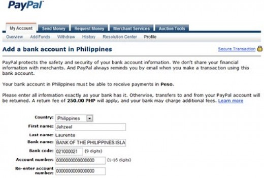 how to call paypal from philippines