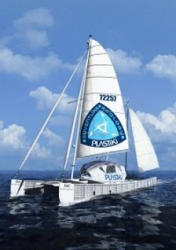 David de Rothschild's boat The Plastiki completed its epic journey
