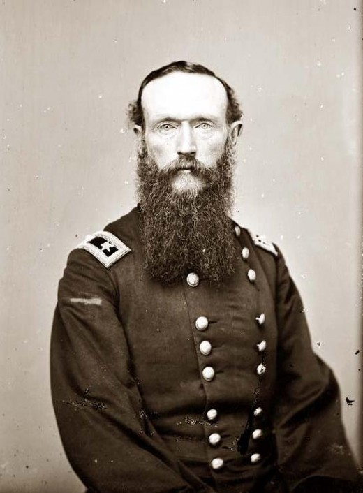 Union major General Frederick Steele