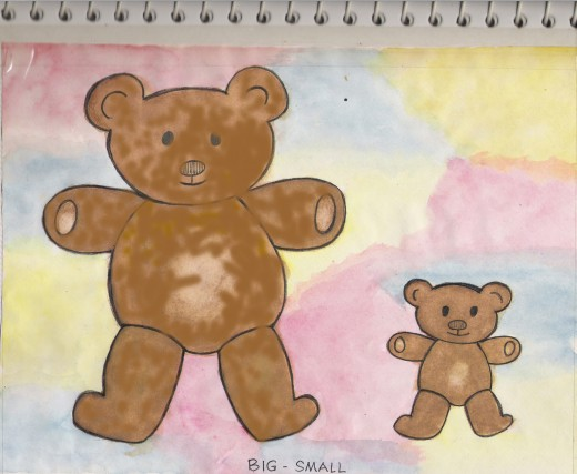 """I had to reconstruct the """"ugly bear"""" using photoshop."""