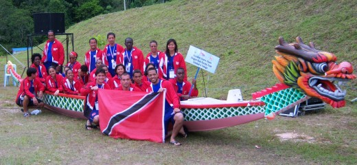 Tobago & Trinidad team...
