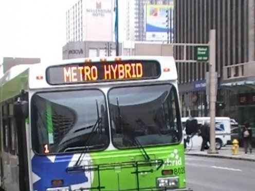 Mass transit is Hopping onto the Hybrid band wagon. With onboard systems that generate their own electrical energy to supplement diesel, they are doing their part to reduce fossil fuel consumption.