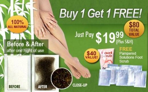 the official Kinoki footpad ads