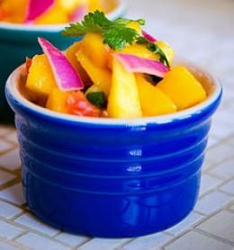 Diabetic Snack - Mango Salsa