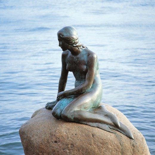 The Little Mermaide, Copenhagen Denmark