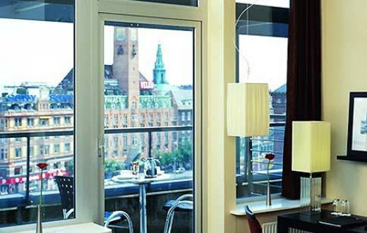 The Square Hotel Copenhagen, View from the room