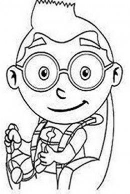 Little Einsteins Kids Coloring Pages Free Colouring Pictures to Print