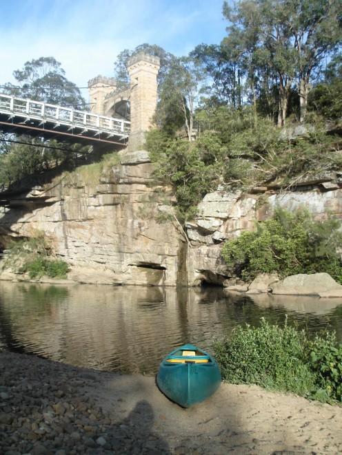 Hampden Suspension Bridge
