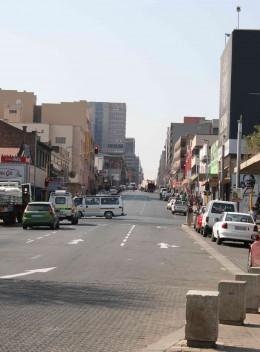 Bree Street in downtown Johannesburg, 2010. Photo by Tony McGregor