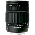 Sigma 18-250 mm OS lens for Canon