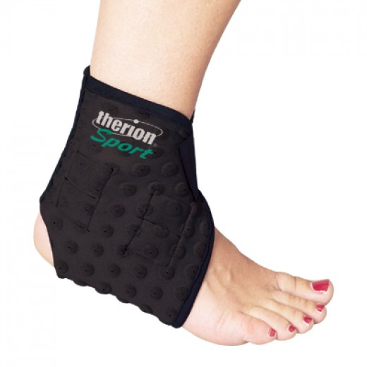 Sports magnetic ankle brace