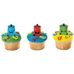 Thomas the Tank Engine Cupcake rings