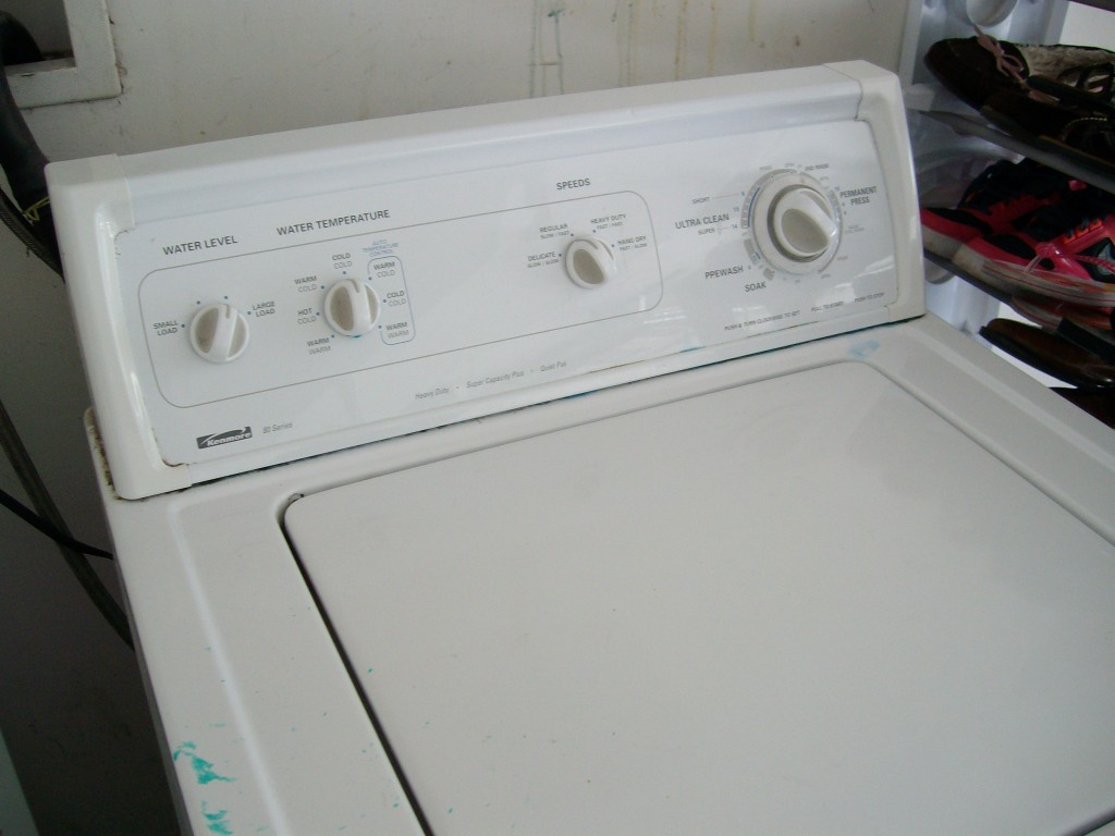 How to gain service access to whirlpool kenmore kirkland for Kenmore washer motor replacement