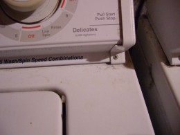 Whirlpool Timer Top, Notice the hold down screw