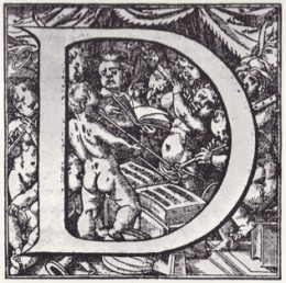 Engraving from set of masses by George de La Hele