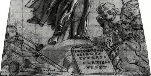 Detail, Pieter de Witte, Euterpe