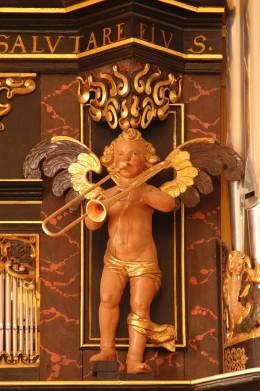 St. Vincenzkirche organ case, Schningen, German