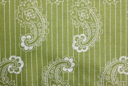 Sublime Green Paisley