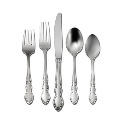 Oneida Dover Decorative Stainless Steel Flatware Set
